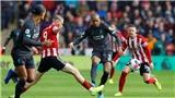 Sheffield Utd 0–1 Liverpool: The Kop nối dài chuỗi trận thắng liên tiếp bằng chiến thắng may mắn