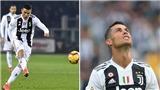 Cristiano Ronaldo là cầu thủ đá phạt tệ thứ hai trong lịch sử Serie A
