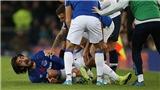 Everton 1-1 Tottenham: Kinh hoàng khi Andre Gomes gãy chân sau pha trả đũa của Son Heung Min