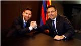 Barcelona: Các sếp Barca muốn trói Messi tới tận năm 2023