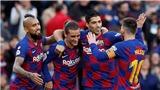 Barca 4-1 Alaves: Suarez lập hat-trick kiến tạo, Messi ghi bàn, Barca nhấn chìm Alaves