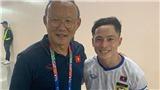 'Messi Lào' chúc mừng chiến công của ông Park và U22 Việt Nam