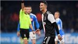 Napoli 2-1 Juventus: Ronaldo lập công, Juve vẫn thua sốc Napoli
