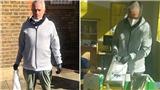 Jose Mourinho được khen ngợi khi đeo khẩu trang làm từ thiện giữa mùa dịch