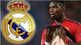 MU từ chối đề nghị hỏi mua Pogba 70 triệu bảng của Real