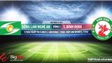 Soi kèo nhà cái SLNA vs Bình Định. VTC3, TTTV Trực tiếp bóng đá Việt Nam 2021