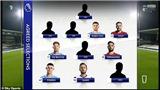 Neville chọn 9 cầu thủ Manchester cho đội hình xuất sắc nhất mùa giải