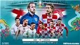 Tỷ lệ kèo Anh vs Croatia. Kèo nhà cái EURO 2021. Trực tiếp bóng đá VTV3, VTV6