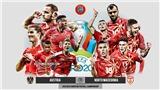 Kèo nhà cáiÁo vs Bắc Macedonia. Tỷ lệ kèo bóng đá EURO 2021. Trực tiếp VTV6