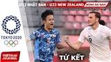 Kèo nhà cái. Soi kèo U23 Nhật Bản vsNew Zealand. VTV6 VTV5 trực tiếp bóng đá Olympic 2021
