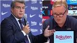 Barca: Laporta kêu gọi họp khẩn để sa thải Koeman