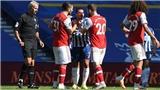 KẾT QUẢ bóng đá Brighton 0-0 Arsenal, Ngoại hạng Anh hôm nay