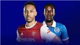 VIDEO Brighton vs Arsenal, Ngoại hạng Anh vòng 7
