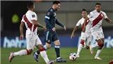 Vòng loại World Cup 2022 Nam Mỹ: Argentina thắng nhẹ Peru, Brazil nhấn chìm Uruguay