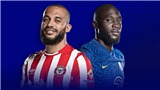 VIDEO Brentford vs Chelsea, Ngoại hạng Anh vòng 8