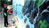 Du lịch Đảo Bé, Lý Sơn ngắm tranh bích họa 'Tôi yêu biển đảo'