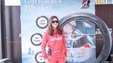 'Nữ hoàng drift xe' Leona Chin 'đốt lốp' Bridgestone