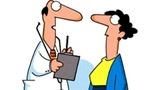 Truyện cười bốn phương: Cám dỗ bệnh nhân