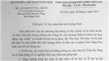 Vụ chùa Ba Vàng: Bộ VHTT&DL gửi công văn hỏa tốc tới Ban Tôn giáo Chính phủ, TƯ Giáo hội Phật giáo VN, UBND tỉnh Quảng Ninh