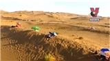 Liệu pháp tắm cát giữa mùa hè sa mạc