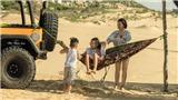 Thái Thùy Linh hạnh phúc cùng hai con trong MV 'Đi để trở về'