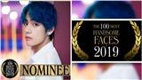 V BTS được đề cử cho danh sách 100 khuôn mặt đẹp trai nhất thế giới 2019