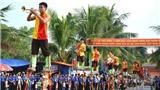 Nam Định: 5000 người đồng diễn xếp hình cờ Tổ quốc mừng Quốc khánh 2/9
