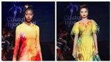 Siêu mẫu quốc tế mang nón dát vàng trình diễn BST 'S Vietnam'