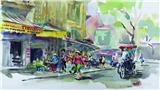 Hành trình ký hoa châu Á: Lưu giữ vẻ đẹp Hà Nội qua ký họa