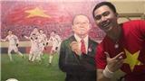 Họa sĩ An Thắng: Được vẽ về bóng đá Việt Nam là hạnh phúc