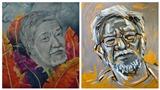 Xem chân dung 'phi tự họa' Nguyễn Trọng Chức