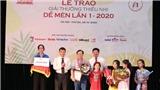 Chủ nhân giải Dế Mèn 2020: Dế Mèn như tiếng trống trường gióng lên