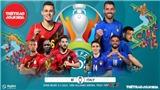 Dự đoán Tứ kết EURO bằng thơ: Tây Ban Nha thắng Thụy Sỹ, Bỉ thua Ý sát nút