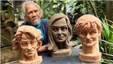 Điêu khắc gia Phạm Văn Hạng: Tạc tượng 3 nữ 'sơ tổ' của vaccine Covid-19