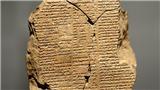 Mỹ trao trả Iraq phiến đất sét cổ 3.500 năm trước đây khắc sử thi Gilgamesh