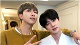 RM thể hiện lòng kính trọng đối với Jin, ARMY cảm động trước tình anh em bền chặt của hai mẩu BTS