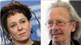 VIDEO: Hai nhà văn Olga Tokarczuk, Peter Handke được trao Nobel Văn học 2018 và 2019
