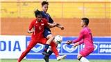 Trực tiếp bóng đá: U18 Đông Nam Á, Thái Lan vs Campuchia (15h30 hôm nay). Kèo bóng đá