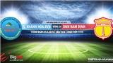 Trực tiếp bóng đá: Khánh Hòa đấu với Nam Định (19h00 hôm nay). Xem bóng đá Việt Nam