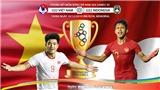 Kèo U22 Việt Nam vs U22 Indonesia: Soi kèo SEA Games 30. Trực tiếp bóng đá VTV6, VTV5, VTC1
