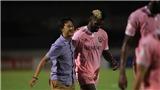 VIDEO bàn thắng SLNA 0-2 Hồng Lĩnh Hà Tĩnh: Thay tướng, đổi vận