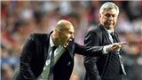 Chiến lược của Perez: 'Trồng' Ancelotti, 'gối' Raul