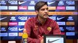 Trực tiếp bóng đá Ajax-Roma: Fonseca dưới giá treo cổ