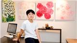Tranh hoa của họa sĩ nhí Xèo Chu thu hút giới sưu tập