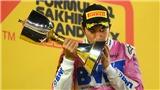Giải đua Công thức 1: Sergio Perez, một sự nghiệp đầy thăng trầm