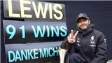Dư âm chặng Eifel Grand Prix: Dấu mốc lịch sử của Hamilton