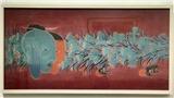 Triển lãm tranh lụa 'Ngày - đêm': 'Hơi thở mạnh' của tranh lụa đương đại