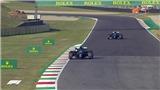 Chặng Tuscan Grand Prix: Hamilton lại thắng trong ngày đua nhiều tai nạn