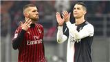 Trực tiếp bóng đá Milan vs Juventus: Ngày Rebic thách thức Cristiano Ronaldo