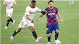 Sevilla 0-0 Barcelona: Có một Barca yếu đuối trên sân khách